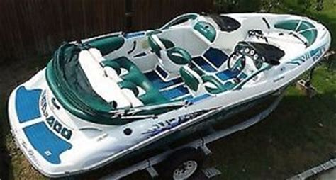 sea doo jet boat for sale ebay uk new custom seat covers upholstery kit set for 1997 sea doo