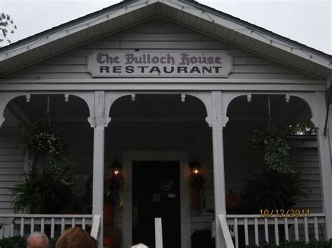 Bulloch House by The Bulloch House Restaurant Warm Springs Menu Prices
