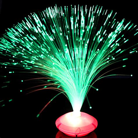 small night light romantic beautiful color changing led fiber optic