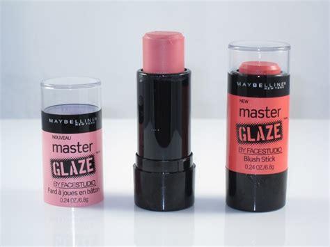 Harga Blush On Stick Maybelline by Maybelline Master Glaze Blush Stick Review Swatches