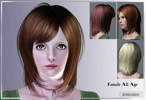 molly sims chin length for thin fine hair fringed chin length hair d 12 by rose sims 3 hairs