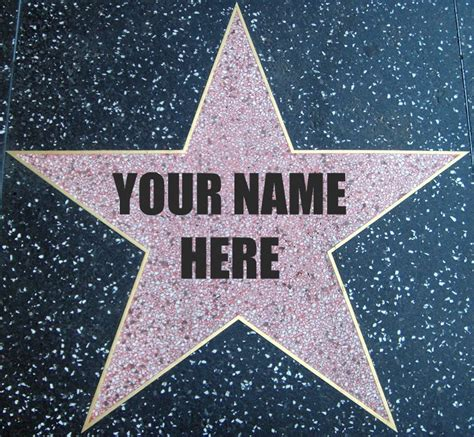 free printable hollywood star the gallery for gt hollywood walk of fame star template