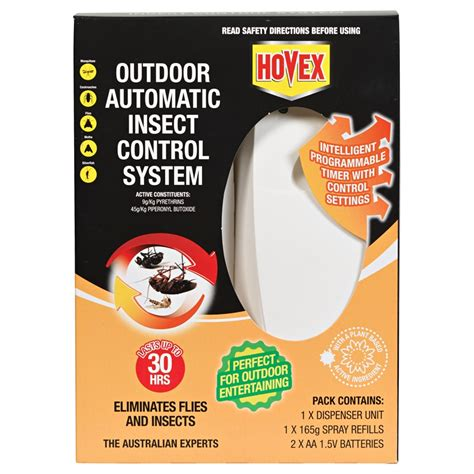 backyard fly control hovex auto outdoor insect control bunnings warehouse