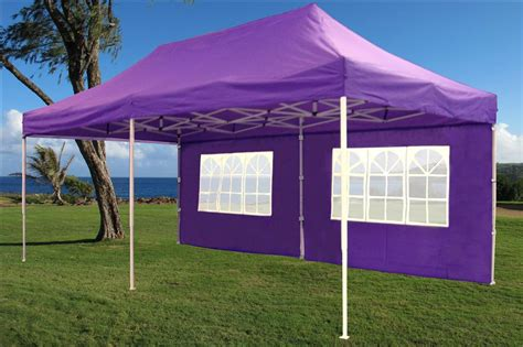 Pop Up Gazebo 10 X 20 Pop Up Tent Canopy Gazebo W 6 Sidewalls 9 Colors