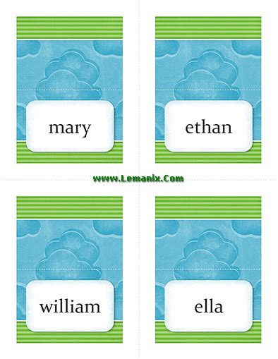 microsoft publisher herunterladen place card template