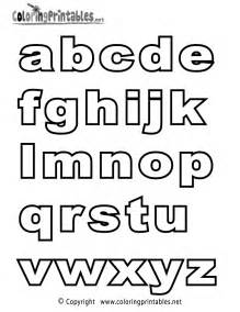 Galerry printable alphabet letters coloring sheets
