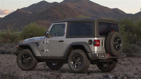 2020 jeep wrangler 2020 jeep wrangler adds willys black freedom