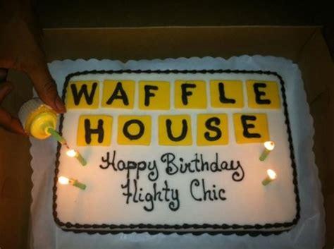 Waffle House Themed Birthday Cake Waffle House Style Pinterest