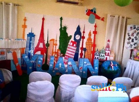 wedding backdrop in the philippines airplane pilot backdrop birthday around the world events