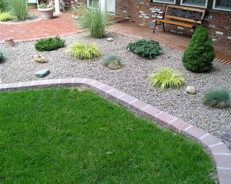 Rock Landscaping Ideas Backyard River Rock Landscaping Ideas To Choose From And They A Dramatic Impact On Your