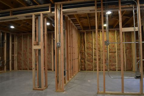 framing a room basement construction in mount prospect il barts remodeling chicago il