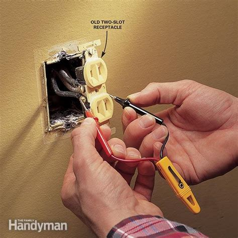 How To Install Floor Outlet by Replacing Electrical Outlet Family Handyman