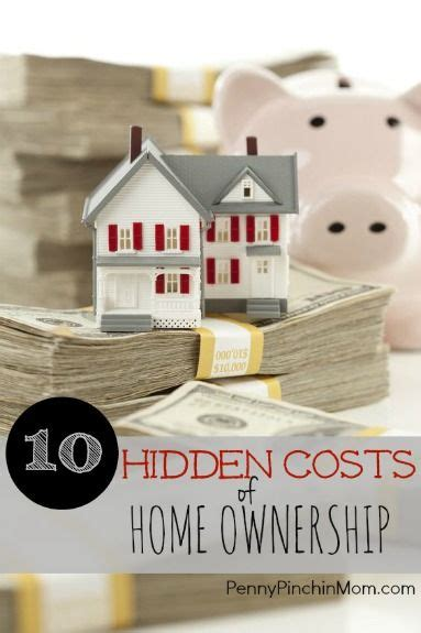 the ten costs of home ownership principal i