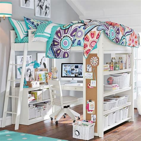 bunk beds with desks underneath bunk beds with desk for girls bunk bed with desk