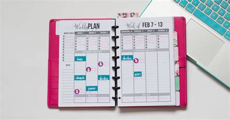 build your own planner how to create your own planner stickers i heart planners