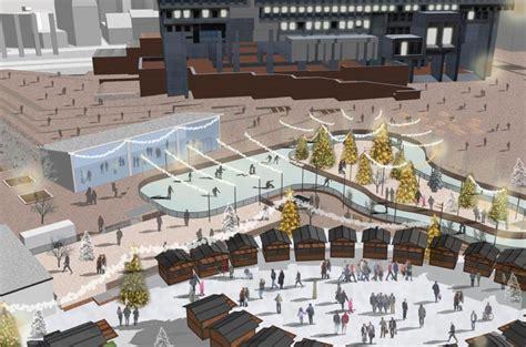 winter garden outdoor shopping plans to turn city plaza into a winter garden unveiled