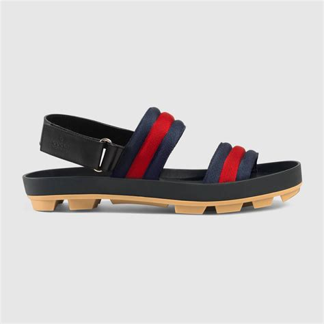 gucci sandals leather and web sandal gucci s sandals slides