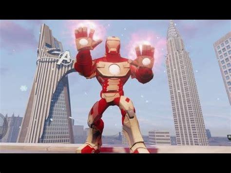 disney infinity iron man mark gameplay stark arc