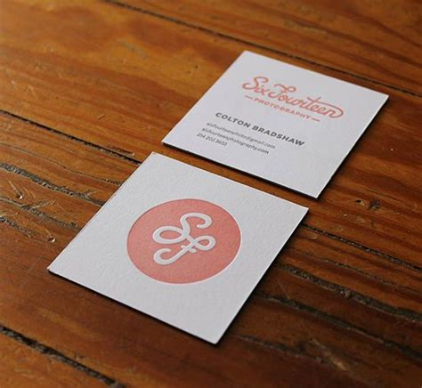 staples scallop cards template letterpress business card the square and simple