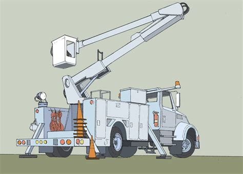 coloring pages bucket truck free coloring pages of bucket truck