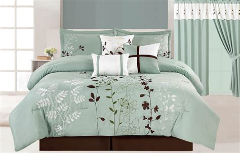 brown bedding sets teal and brown bedding sets better homes and garden teal jacquard comforter cover