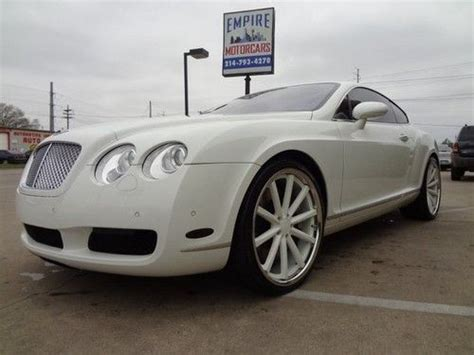 lebron bentley buy used 2005 bentley gt white with 22in white rims lebron