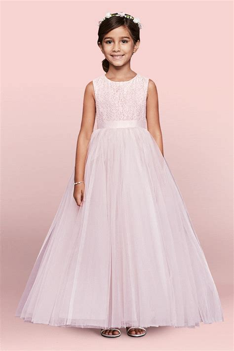 how to choose a flower girl dress david s bridal