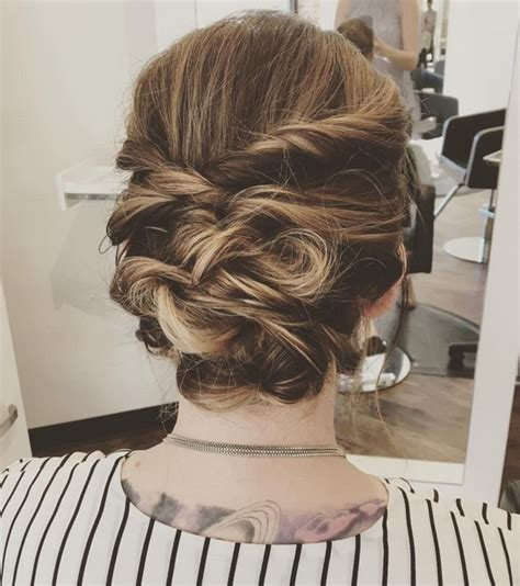 Medium Length Hairstyles Updos by 27 Trendy Updos For Medium Length Hair Updo Hairstyle