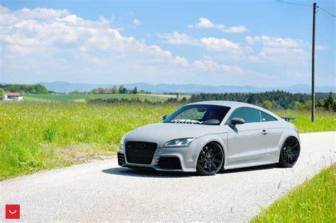 Audi Tt Rs Plus Tuning by Audi Tt Rs Tuning Wallpapers Hd Sport Vossen Wheels