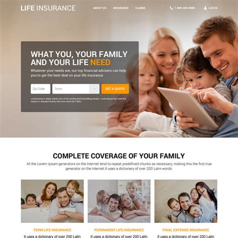 saifway insurance agency html5 template by tripples themeforest