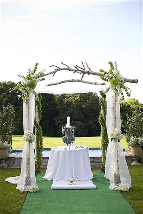 The Wedding Trellis   One Lovely Wedding