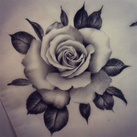 photo realistic rose tattoo and another one would to some more