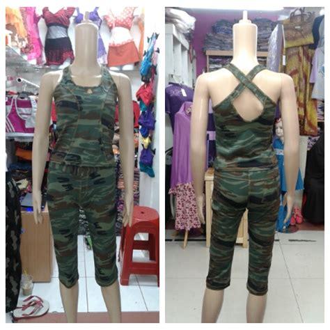 Baju Senam Army Jual Baju Senam Army 3 4 Murah Di Bekasi Baju Senam
