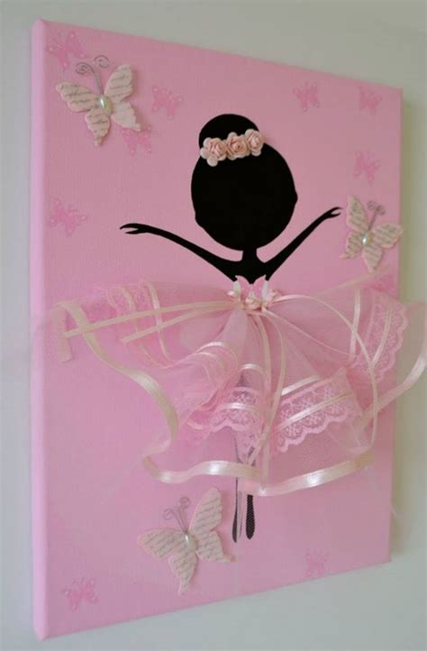 Balerina Canvas by Ballerina Canvas Wall Www Fabartdiy