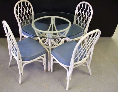 Glass Top Dining Table With 4 Chairs Wicker Dining Table With Glass Top Glass Top Wicker Dining Table 4 Chairs Milwaukee Wi