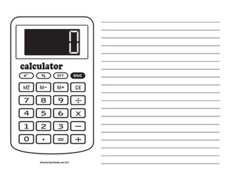 landscape calculator math archives page 3 of 6 clipart borders