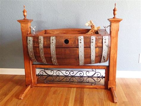 How To Get Wine Out Of Mattress by Wine Barrel Baby Cradle Custom Made By Picklepatchrelics On Etsy 1500 00 Wine Follies