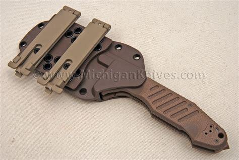 horizontal sheath knives fox michigan knives
