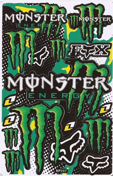 Monster Energy Sticker Design by Other Special Offer Vinyl Stickers Monster Energy