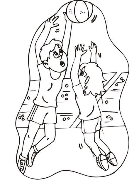 basketball game coloring pages basketball coloring picture girl s basketball game