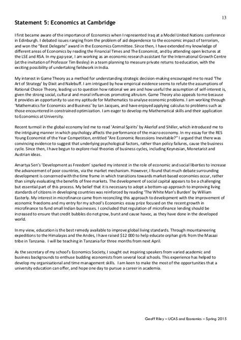 Oxbridge Essay by Personal Statement Exles Oxbridge