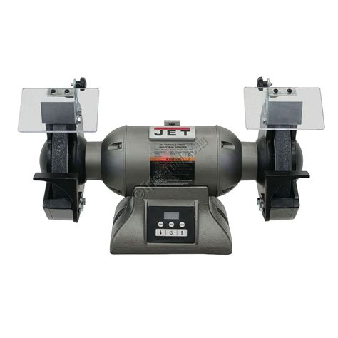 jet 8 inch bench grinder 578208 jet ibg 8vs 8 inch variable speed industrial