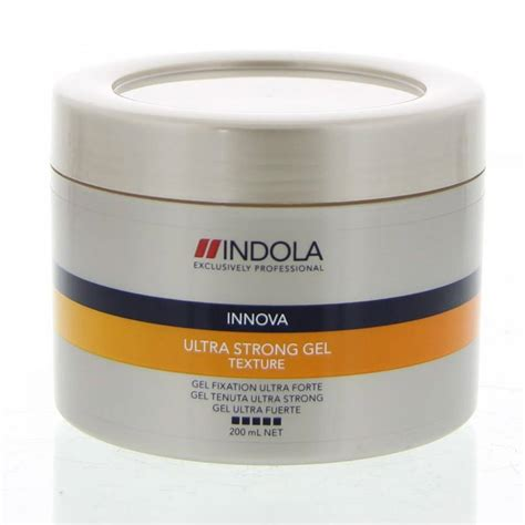 Label Ultra 200 Ml indola innova texture ultra strong gel 200ml sefas