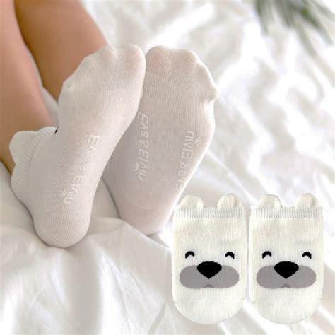 Karpasa Slip On Baby Colour multi color infant baby animal socks