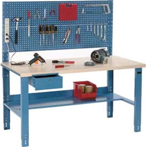 electrical work benches industrial adjustable height workbench