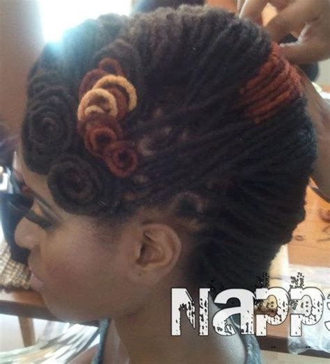 french roll short dreads 120 best dreadlock hairstyles images on pinterest
