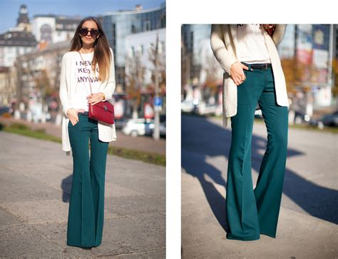 how to wear flare pants flare pants are in style flared pants fashion agony daily outfits fashion