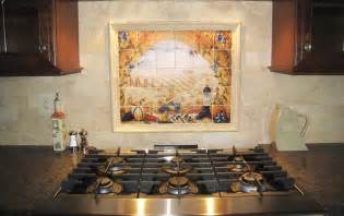 Italian Kitchen Backsplash Italian Tile Murals Tuscany Backsplash Tiles