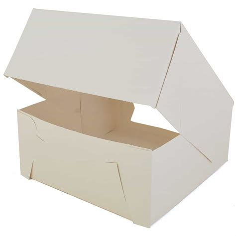 window cake boxes 9 inch cake box with window the brenmar company