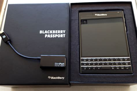 Casing Hp Blackberry Bellagio blackberry passport with slimport is the prosumers ticket to mobile productivity business wire